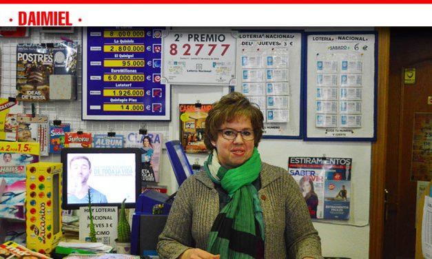 'Los Canarios' reparte en Daimiel 12.000 euros del segundo premio de la Lotería Nacional