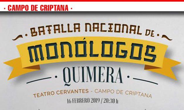El Grupo Scout Quimera presenta la 'Batalla Nacional de Monólogos'