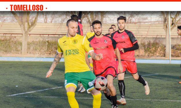 Derrota por la mínima del Atlético Tomelloso ante un Atlético Albacete que acabó pidiendo la hora