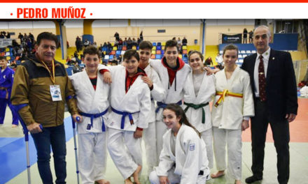 La Escuela Municipal de Judo de Pedro Muñoz se alza con el oro en la II Fase del Campeonato Regional