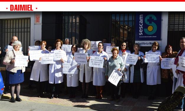 Nueva concentración de los médicos de Atención Primaria en Daimiel