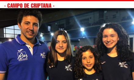 El CNC aporta tres nadadoras al Campeonato de España alevín por comunidades autónomas