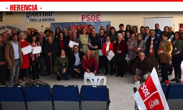 """El PSOE de Herencia rinde un """"merecido homenaje"""" a todos los hombres y mujeres que han contribuido a transformar el municipio"""