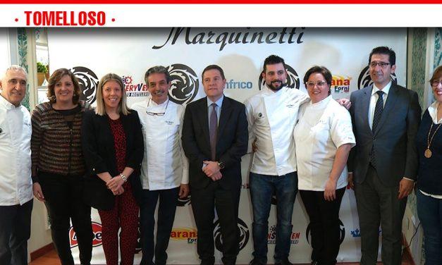 El presidente de Castilla-La Mancha inaugura la Escuela Marquinetti, en Tomelloso