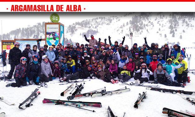 Éxito de participantes en el viaje a la estación de esquí de Grandvalira