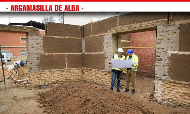 Avanzan a buen ritmo las obras de construcción de la Casa-Museo del Bachiller Sansón Carrasco
