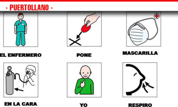 La Gerencia de Puertollano edita una serie de pictogramas que facilitan la atención a pacientes con dificultades para la interacción social