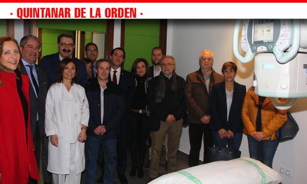 La nueva sala de Radiología digital del CEDT de Quintanar de la Orden ha realizado ya 1.240 pruebas desde su puesta en marcha hace dos meses