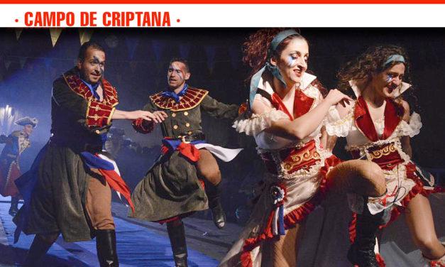 Divertidos bailes y máscaras en la Gala de Inauguración del Carnaval 2019 de Campo de Criptana