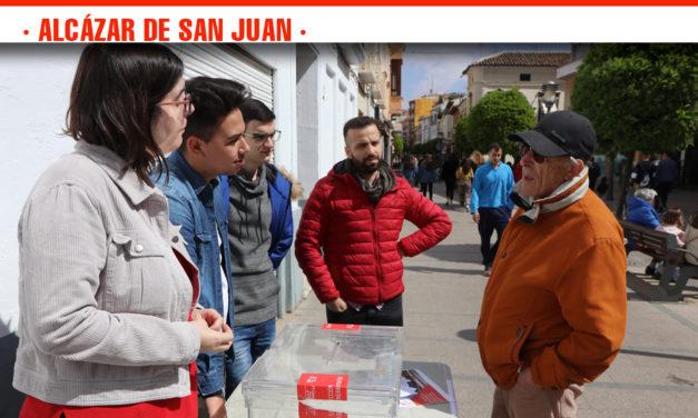 Juventudes Socialistas recoge las propuestas de mejora de los vecinos de Alcázar de San Juan