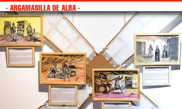 Julián Díaz expone en la Casa de Medrano su visión de la primera parte del Quijote