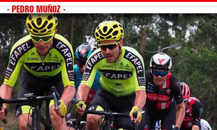 El ciclista de Pedro Muñoz, Marcos Jurado, finaliza en el puesto 17º de la Clásica de Primavera de Portugal