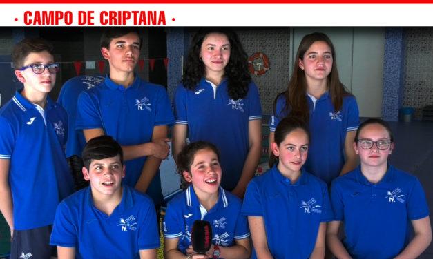 Alevines del CN Criptana, campeones regionales gracias al esfuerzo, el compromiso y la dedicación