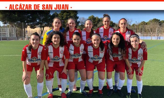 Partido importante para el UD Racing de Alcázar contra el Sánta Bárbara que solventó con una contundente victoria por 4-1