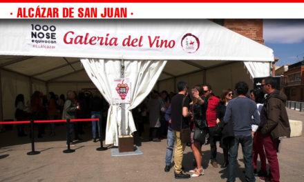 Un total de 50 referencias de caldos manchegos se han catado en 'La Galería del Vino', en la Plaza de Santa Quiteria