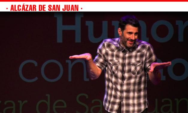 Emilio Gavira y David Amor inician las jornadas de humor del Ciclo 'La Cultura del vino' en Alcázar de San Juan