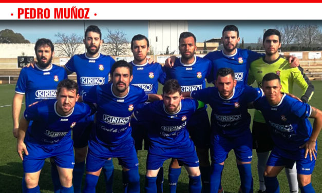 El Atlético Pedro Muñoz necesita vencer en su choque frente al Porzuna para seguir en la lucha por el ascenso