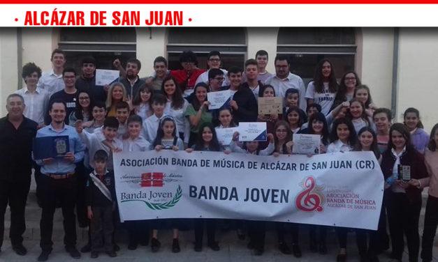 La Banda Joven de la Asociación Banda de Música de Alcázar de San Juan gana el primer premio en el III Concurso de Bandas Juveniles de Valencia