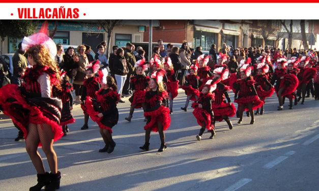 1.200 personas participarán mañana en el Desfile de Carnaval de Villacañas