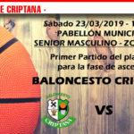 Previas Baloncesto Criptana 22-23-24 de marzo