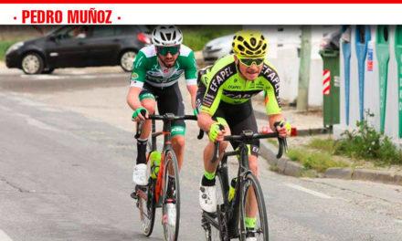 Participación del ciclista de Pedro Muñoz, Marcos Jurado, en la Classica da Arrabida