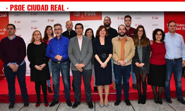 El Comité Provincial del PSOE de Ciudad Real aprueba por unanimidad las candidaturas al Congreso y al Senado que encabezan Blanca Fernández y Jesús Martín