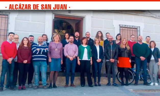 Rosa Melchor presenta la candidatura del PSOE de Alcázar de San Juan