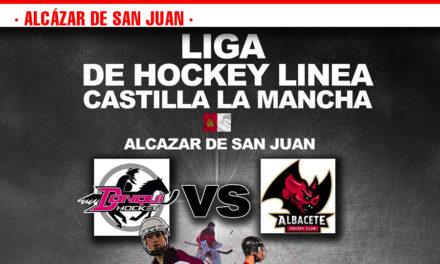 Los Donqui Hockey de Alcázar se enfrentan a Los Murciélagos Rojos de Albacete este sábado 23 de marzo