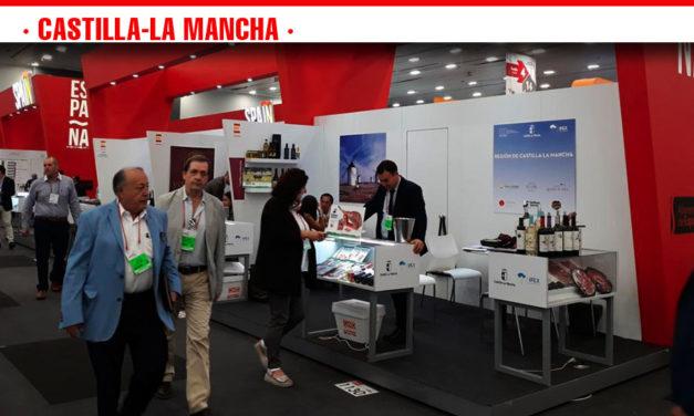 Ocho empresas agroalimentarias de Castilla-La Mancha han participado en la feria Expo 'Antad & Alimentaria' en México