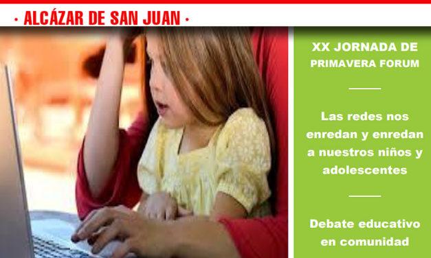 """XX Jornadas de la FEAE CLM  """"Incidencia de las redes sociales en la vida de los niños y adolescentes"""""""