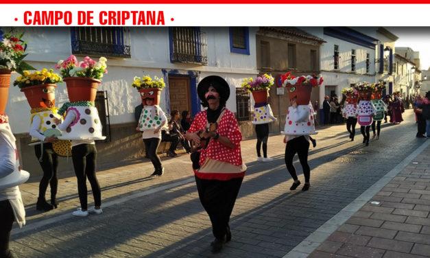 Comienza el carnaval en Campo de Criptana con el desfile local popular