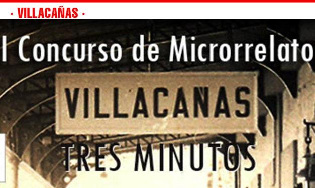 """Convocado el II Concurso de Microrrelatos """"Villacañas 3 Minutos"""""""