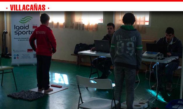 Villacañas continúa con las evaluaciones de la condición física de sus jóvenes deportistas