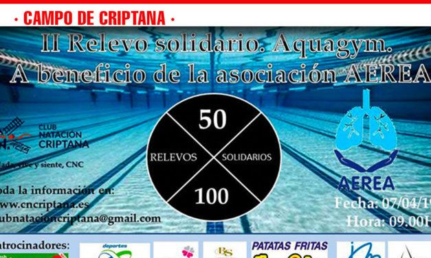 El 7 de abril tendrá lugar el II Relevo Solidario, organizado por el CN Criptana y el Ayuntamiento