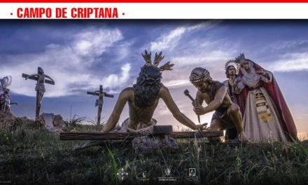'La Crucifixión' imagen del cartel de la Semana Santa 2019