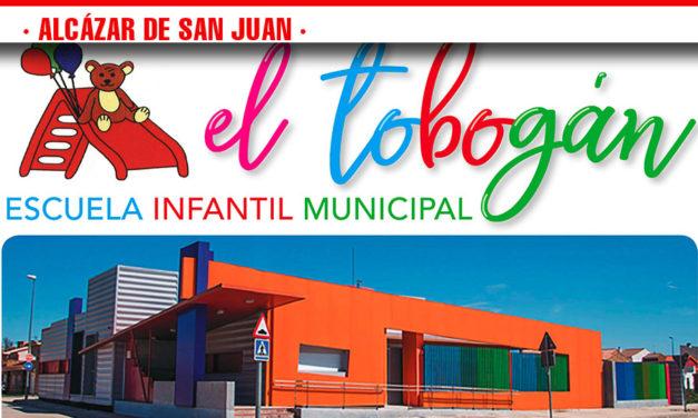 La Escuela Infantil  Municipal El Tobogán celebra una jornada de puertas abiertas en el comienzo del plazo de solicitud de reserva de plaza