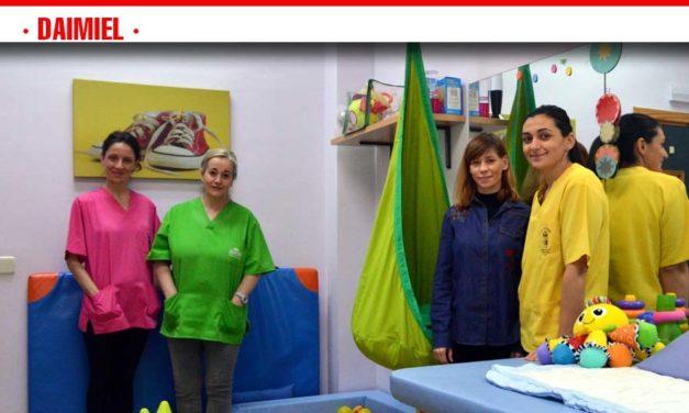 El Centro de Atención Temprana trabaja cada año con una media de 100 niños