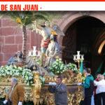 La procesión de Jesús Orando en el Huerto varía su recorrido en una lluviosa Semana Santa en Alcázar de San Juan