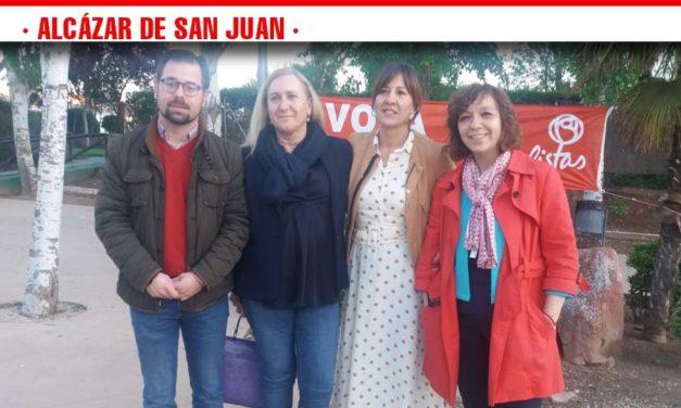 ACTO DE CIERRE DE CAMPAÑA BLANCA FERNÁNDEZ, CARMEN MÍNGUEZ Y ROSA MELCHOR