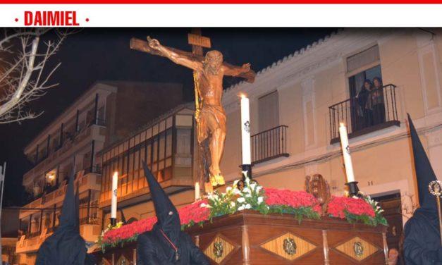 El Vía Crucis del Cristo de Luz procesiona este Martes Santo