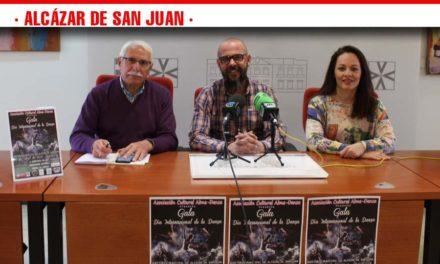Presentada la Gala del Día Internacional de la Danza Promovida por la Asociación Cultural Alma-Danza con el apoyo del ayuntamiento de Alcázar de San Juan y cuya recaudación íntegra para la Asociación Española contra el Cáncer.
