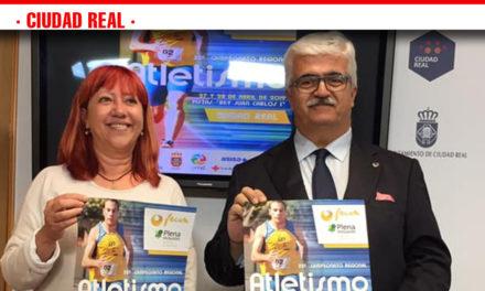 LA PISTA DE ATLETISMO REY JUAN CARLOS I ALBERGARÁ EL 22º CAMPEONATO REGIONAL DE ATLETISMO