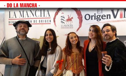 Los vinos DO La Mancha reivindican su esencia cervantina en Madrid