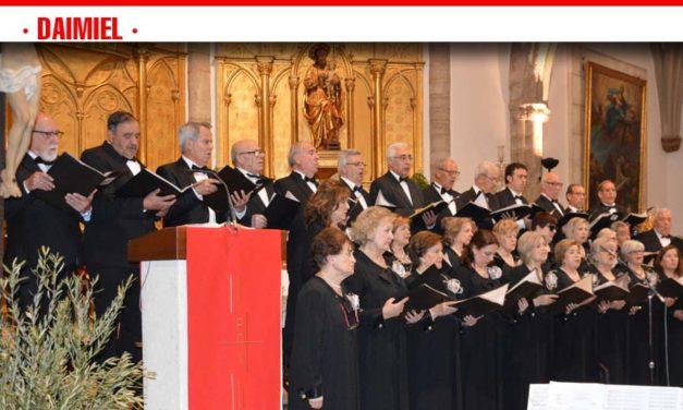 La Coral 'Molto Vivace' ofrece su concierto extraordinario de Semana Santa
