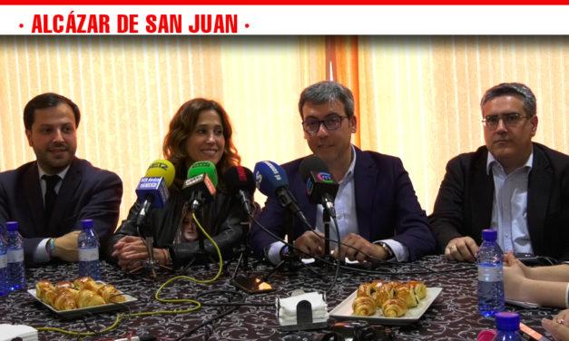 El Partido Popular defiende la unidad de España y una gran revolución fiscal con bajada de impuestos en Alcázar de San Juan