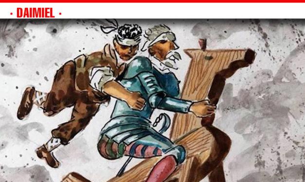 El próximo viernes 5 de Abril se inaugura la  Exposición de 'El Quijote de Samper'