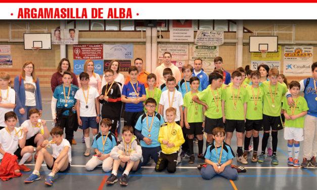 Los centros escolares de Argamasilla de Alba celebraron el Torneo Intercentros de Fútbol Sala