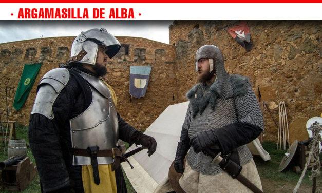 """La organización califica de """"éxito"""" el I Mercadillo Medieval 'Peñarroya del Alto Guadiana'"""