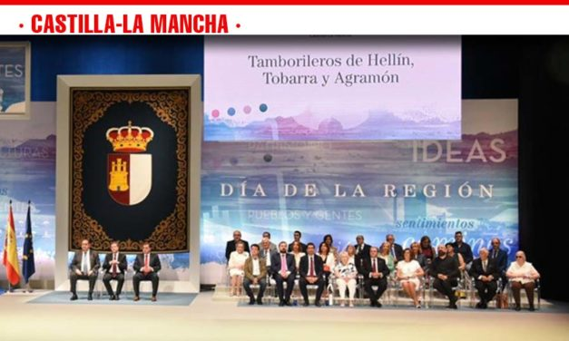 Hernando afirma que este Día de Castilla-La Mancha «marca el inicio de un nuevo capítulo lleno de optimismo»