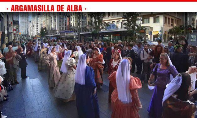 'El Quijote en la Calle' toma la Gran Vía madrileña